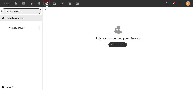 Contact NextCloud
